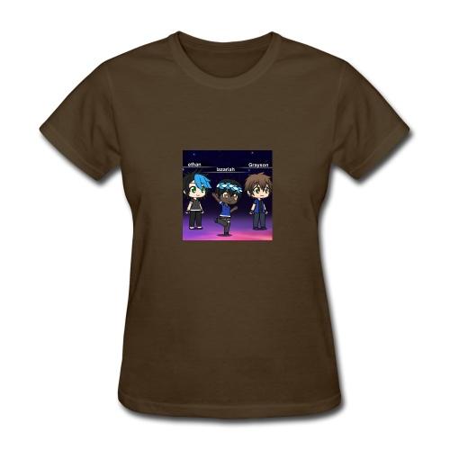 gray,lazariah, ethan - Women's T-Shirt