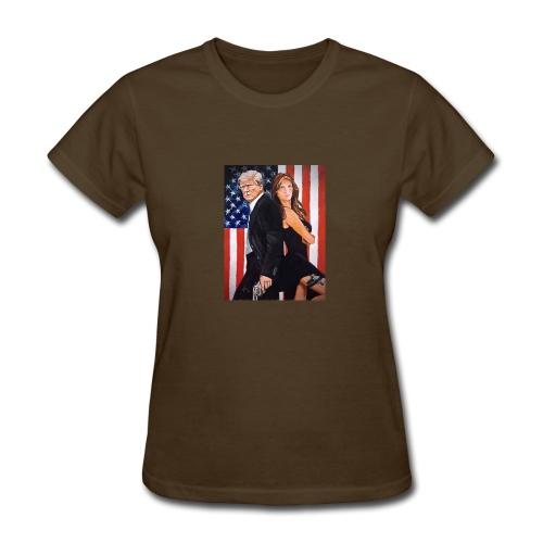 Melania & Donald - Women's T-Shirt