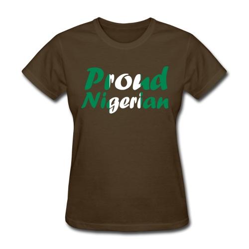 Proud Nigerian T-Shirt - Women's T-Shirt