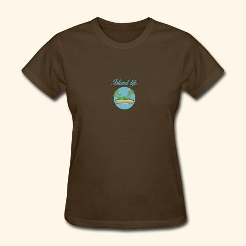 Island life - Women's T-Shirt