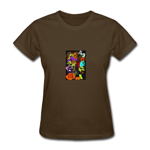 Halloween Trick or Treat - Women's T-Shirt