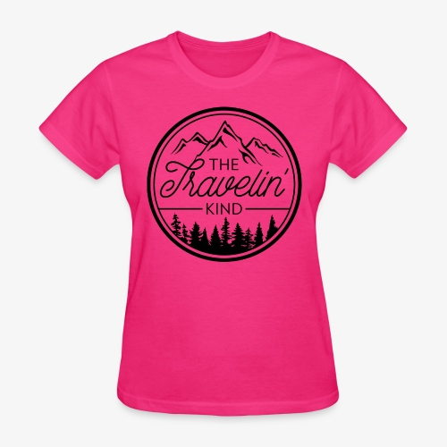 The Travelin Kind - Women's T-Shirt