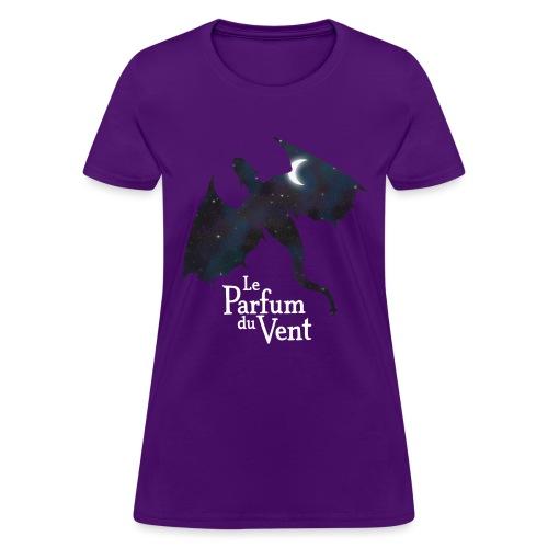 Dragon nuit png - T-shirt pour femmes
