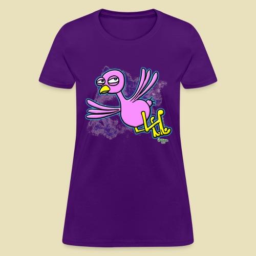Ongher's UFO P-Bird - Women's T-Shirt