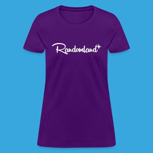 Randomland White Logo - Women's T-Shirt