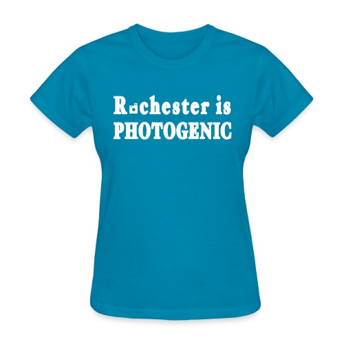 New York Old School Rochester is Photogenic Shirt - Women's T-Shirt
