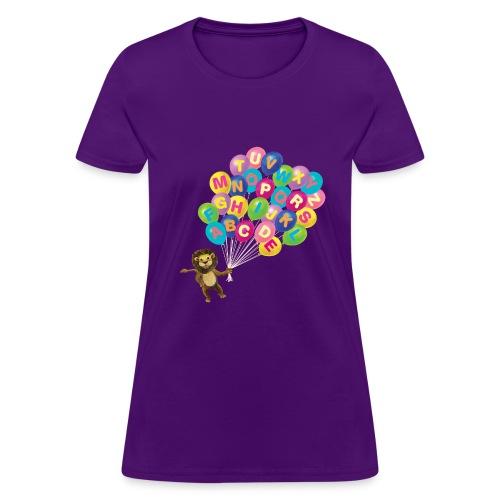Balloons Lion - Women's T-Shirt