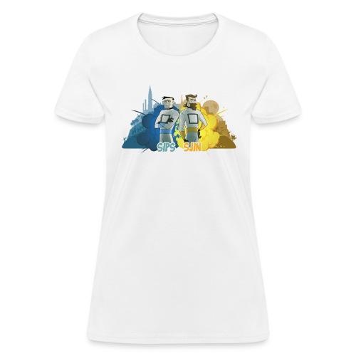 sipssjin shirt400dpi - Women's T-Shirt
