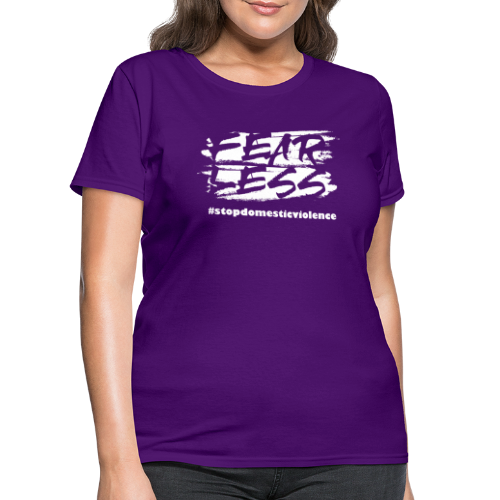 Purple October Limited Edition Domestic Violence - Women's T-Shirt