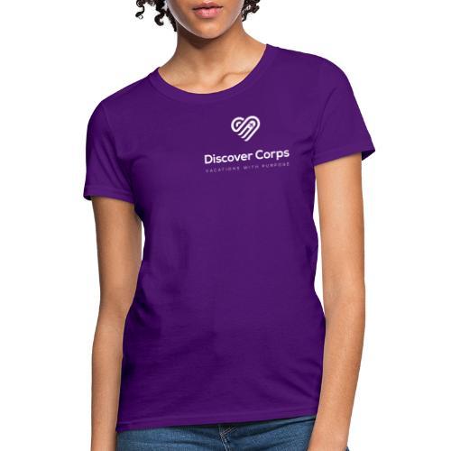 DiscoverCorp Logo Vertical Rev High - Women's T-Shirt