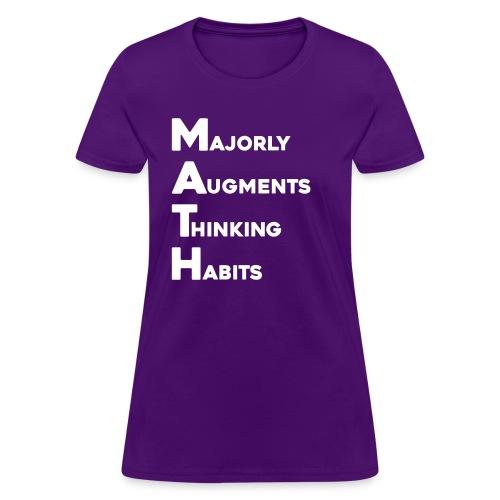 MATH Stands for - Women's T-Shirt