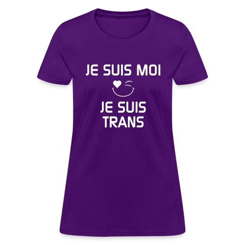JeSuisMoiJeSuisTrans - Women's T-Shirt
