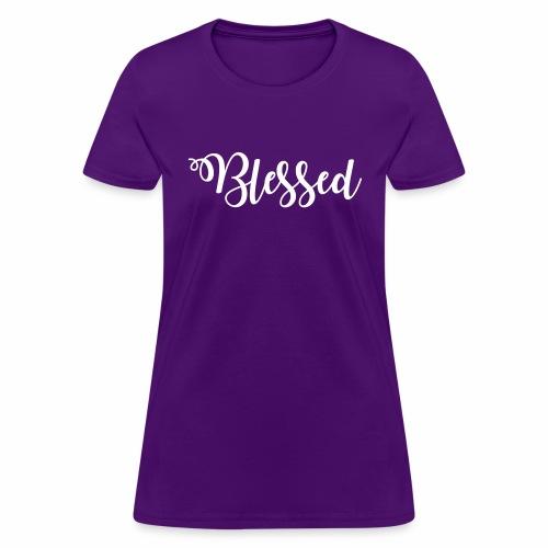 blessed - Women's T-Shirt