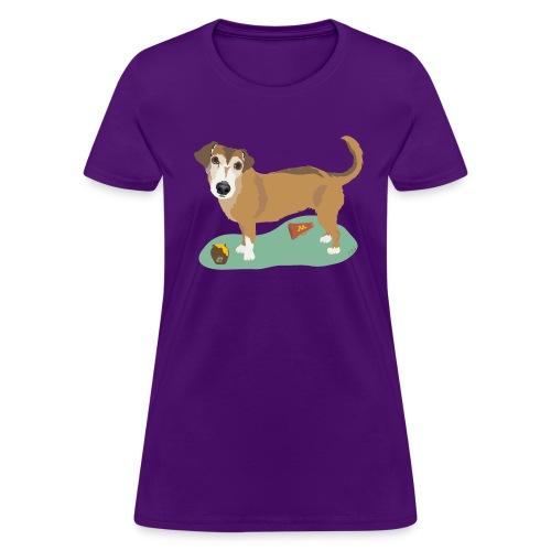 School Spirit and Snacks - Women's T-Shirt