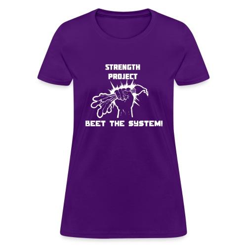 beet the system - Women's T-Shirt