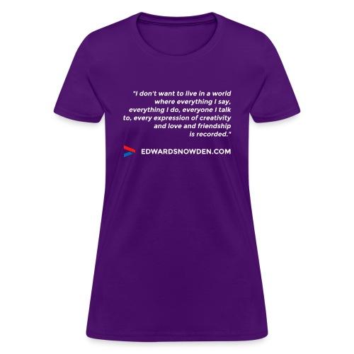 6697837 113645539 design 4 white orig - Women's T-Shirt