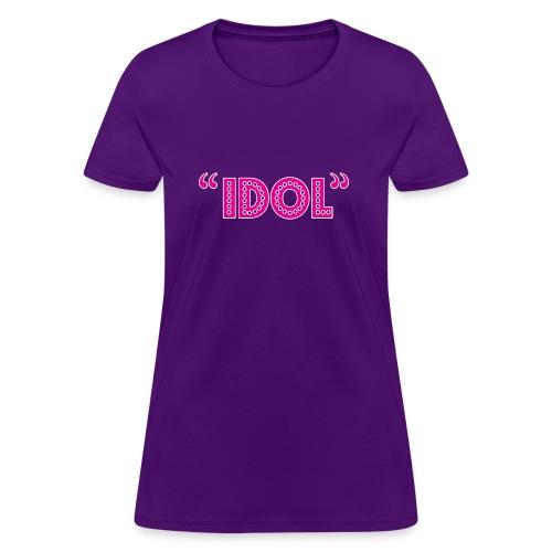 Hipster Idol - Women's T-Shirt