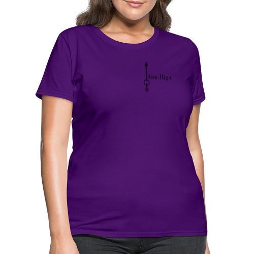 Aim High Black - Women's T-Shirt