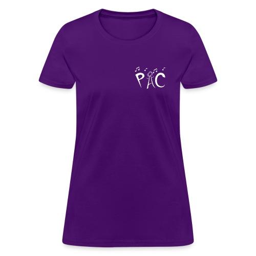 PAC Logo White - Women's T-Shirt