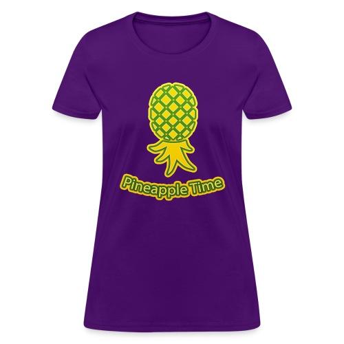 Swingers - Pineapple Time - Transparent Background - Women's T-Shirt