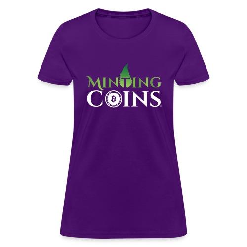 Minting Coins - Women's T-Shirt