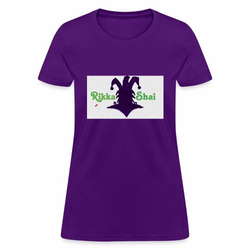 Rikka Shai Electric Logo - Women's T-Shirt
