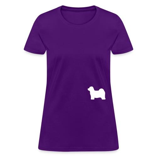 hava1 groot wit - Women's T-Shirt