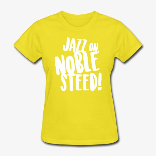 MSS Jazz on Noble Steed - Women's T-Shirt