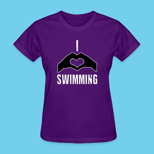 I heart swimming - Women's T-Shirt
