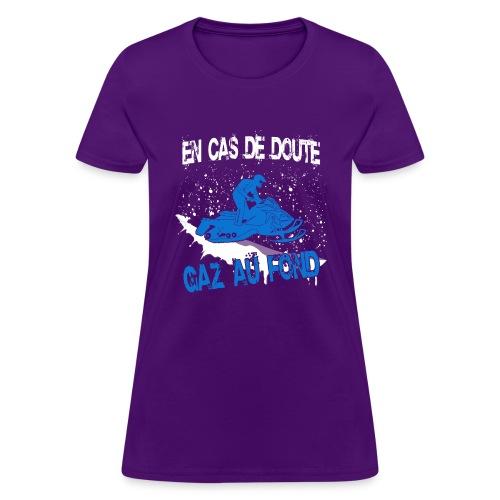 snowmobile png - Women's T-Shirt