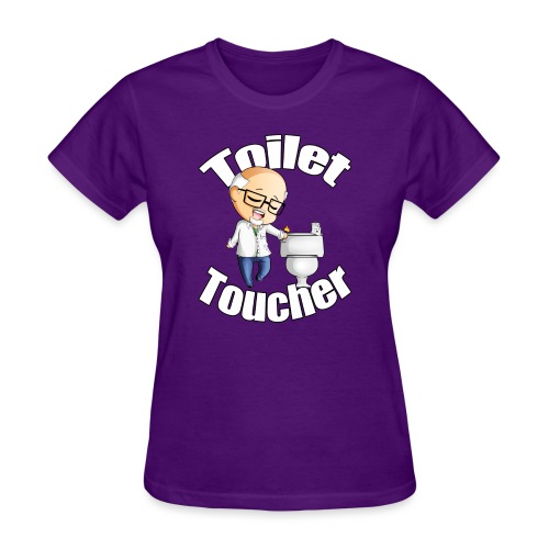 toilet toucher png - Women's T-Shirt