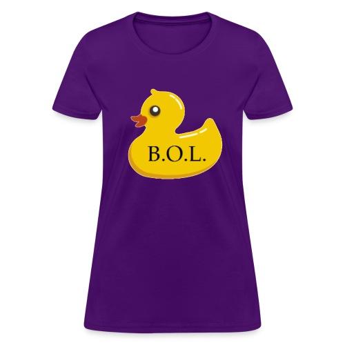Official B.O.L. Ducky Duck Logo - Women's T-Shirt