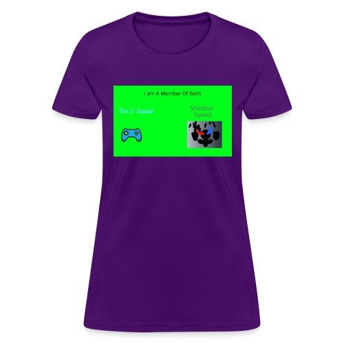 Shadow and J_Squad Shirt - Women's T-Shirt