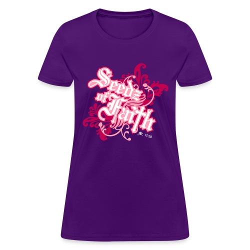 sofpink frontprint - Women's T-Shirt