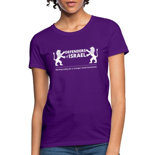 Defenders Of Israel White - Women's T-Shirt