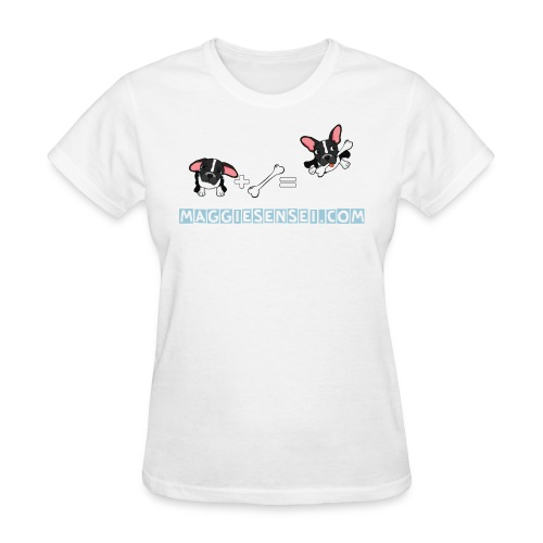 dogs blue 2 - Women's T-Shirt
