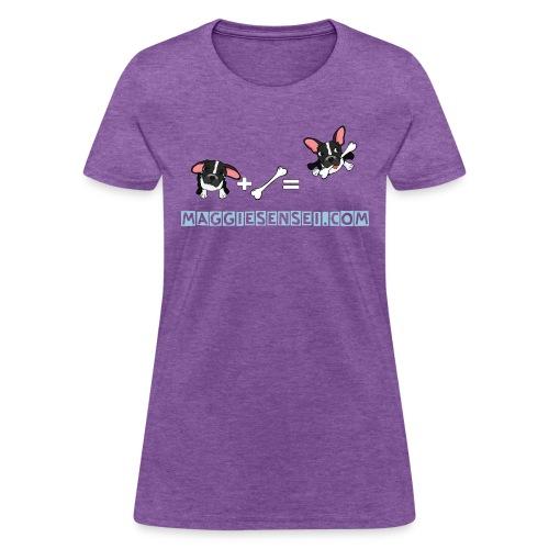 dogs blue 2 - Women's T-Shirt