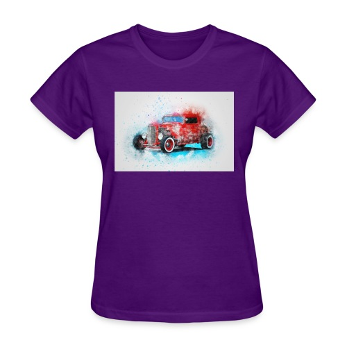 Old car - Women's T-Shirt