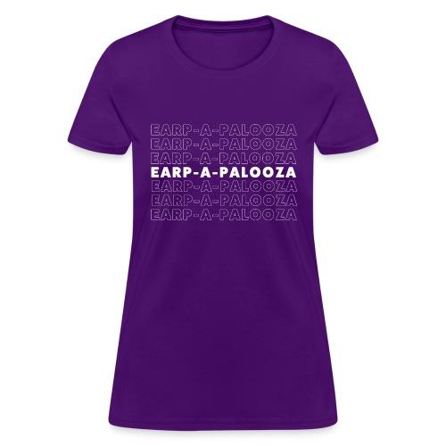 Earp-a-palooza Retro Name - Women's T-Shirt