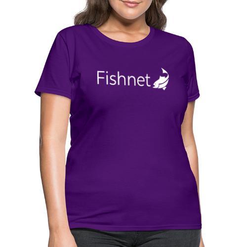 Fishnet (White) - Women's T-Shirt