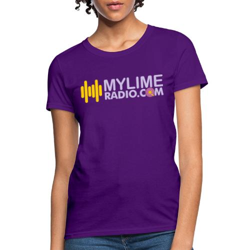 MyLimeRadio ALT LOGO (Tri Colour) - Women's T-Shirt