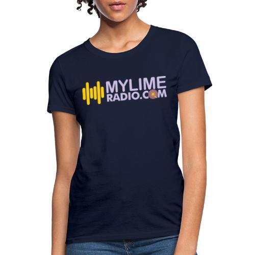 MyLimeRadio ALT LOGO (Tri Colour) - Women's T-Shirt