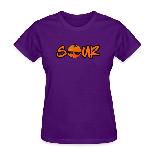 Orange Sour Word - Women's T-Shirt