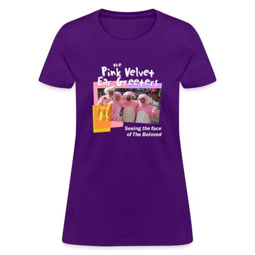 The Pink Velvet Ear Greeters - Women's T-Shirt