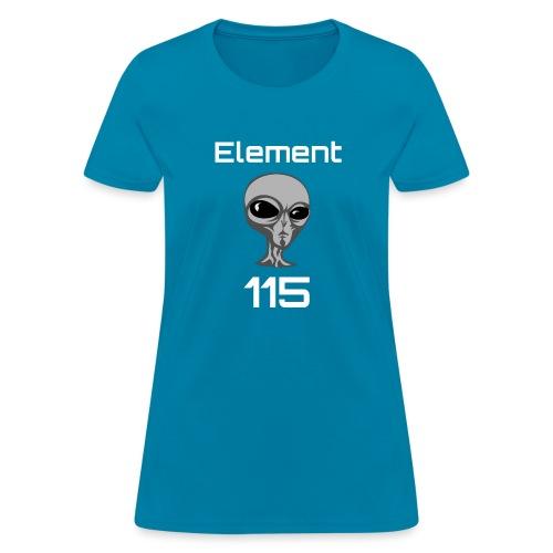 Element 115 Moscovium Alien Fuel - Women's T-Shirt