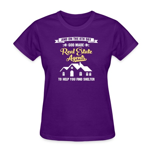 God Made RE Agents - Women's T-Shirt