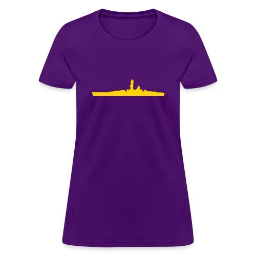 Battleship - Women's T-Shirt