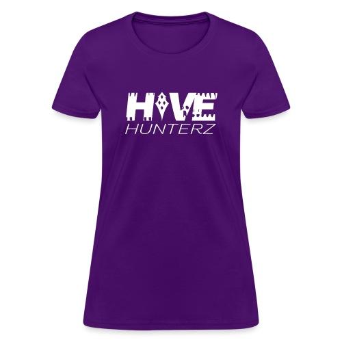 White Hive Hunterz Logo - Women's T-Shirt
