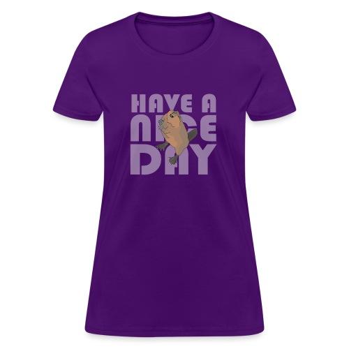 beaver - Women's T-Shirt