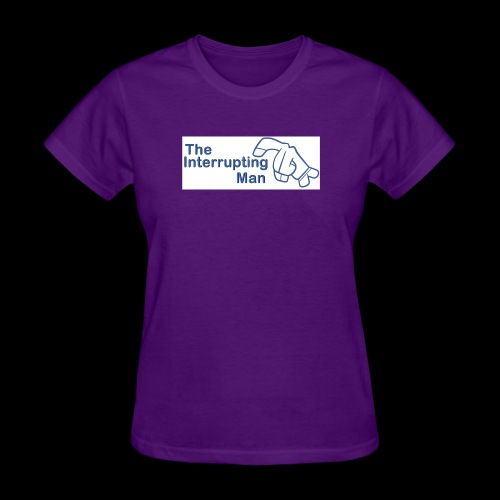 The Inturrepting Man - Women's T-Shirt